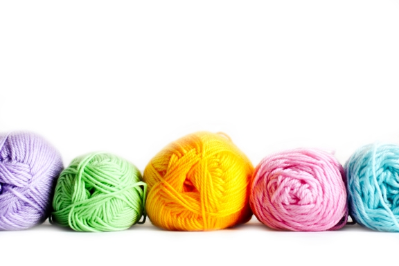 Yarn-in-row