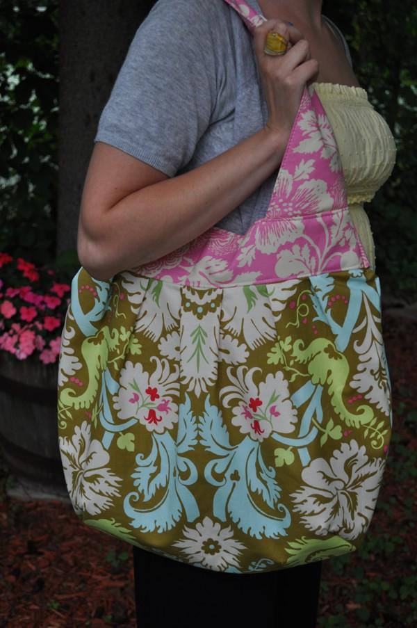 Me with bag