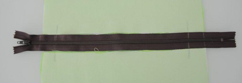 Zipper mark
