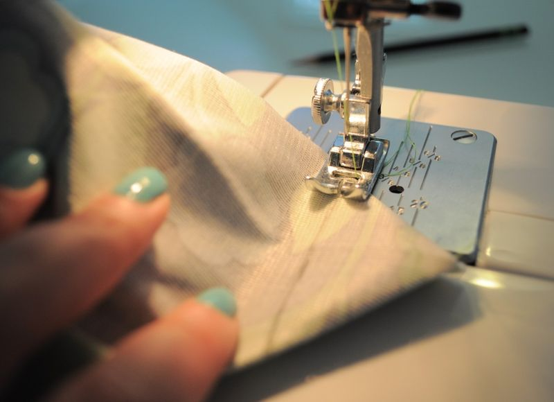 Sew along that line